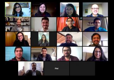 Mentores de la Red 3IE realizan jornada de Speed Mentoring con emprendedores patrocinados por la incubadora de la USM